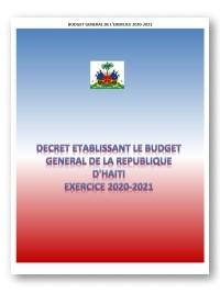 Haïti - Économie : Tous les détails du nouveau budget d'Haïti (2020-2021) de 254 milliards