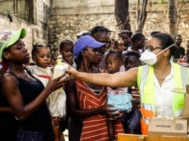iciHaiti - Social : Food For The Poor helps the victims of Bel-Air