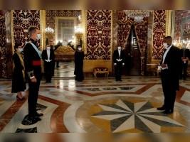iciHaïti - Espagne : Le nouvel Ambassadeur d'Haïti a remis ses Lettres de Créances au Roi Felipe VI