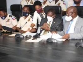 Haïti - Santé : Signature d'un protocole de soins à l'intention des agents de la PNH