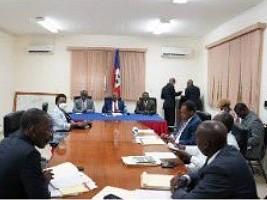 Haïti - Politique : Promesses du PM au Conseil Supérieur du Pouvoir Judiciaire