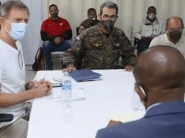 Haiti - DR : Bilateral meeting around the border markers