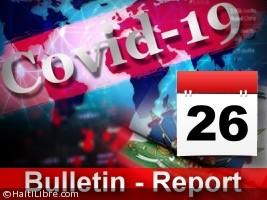 Haïti - Diaspora Covid-19 : Bulletin quotidien 26 octobre 2020