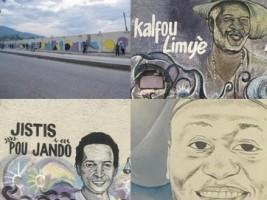 iciHaïti - Social : Fresques murales, les morts en fête