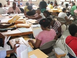 Haiti - FLASH : Last straight line for the corrections of the Bac 2020