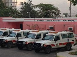 iciHaïti - Santé : Bilan du Centre Ambulancier National (octobre)