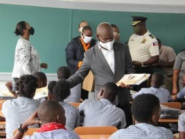 Haiti - Education : Official reopening of classes and the inauguration of 12 new schools