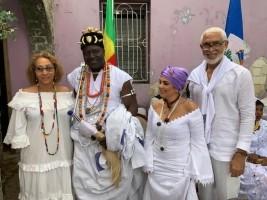 iciHaiti - Vaudou : The Ambassador of all the Royalty of Dahomey, King Tovomandjèhougni in Kenscoff