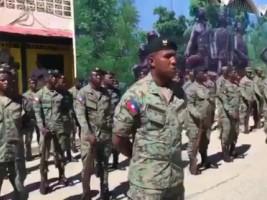 Haïti - FLASH : Les FAd'H voudraient recruter jusqu'à 5,000 soldats d'ici fin 2021
