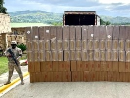iciHaiti - DR : Large seizure of contraband cigarettes from Haiti