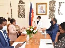 iciHaiti - Diaspora : The Consulate General of Haiti in Paris, gets closer to Haitian associations