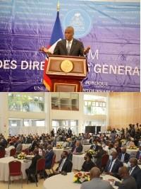 Haïti - Politique : Intervention de Moïse aux assises sur la bonne gouvernance