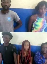 iciHaïti - Gonaïves : 5 jeunes kidnappeurs arrêtés