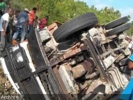 iciHaiti - Weekly road report : 33 accidents, 83 victims