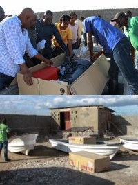 iciHaiti - Fishing : Distribution of boats in Anse-Rouge