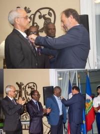 iciHaïti - France : Décoration de l'ordre des palmes académiques