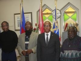 iciHaïti - Montréal : Visite du Consul d'Haïti à «La Perle Retrouvée»