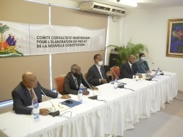 Haïti - Nouvelle Constitution : Un projet sera prêt premier semaine de janvier 2021