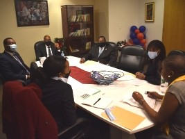 iciHaïti - Diaspora : Le Consul rencontre l'Association des étudiants haïtiens de l'Université de Montréal
