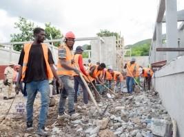 Haïti - Éducation : 25 infrastructures scolaires en construction