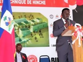 iciHaïti - Hinche : Installation du DG du centre de formation professionnelle