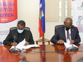 iciHaïti - Politique : Subvention pour l'Académie Créole Haïtienne