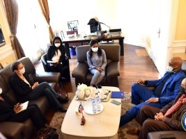 iciHaïti - France : La Consule d'Haïti à Paris, multiplie les rencontres avec les associations de la diaspora