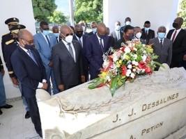 iciHaïti - Jour des Aïeux : Offrande florale en l'honneur des Héros de l'indépendance