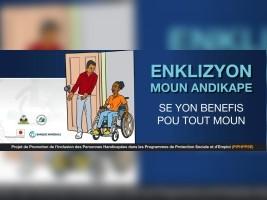 iciHaïti - Social : Projet de Promotion de l'inclusion des personnes handicapées...