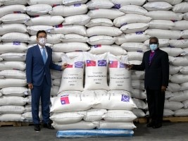 iciHaïti - Humanitaire : Accord de don de 8,800 tonnes de riz entre Taïwan et «Food For The Poor»