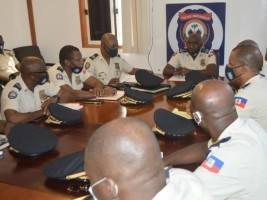 iciHaïti - PNH : Réunion de haut niveau sur la situation sécuritaire en Haïti