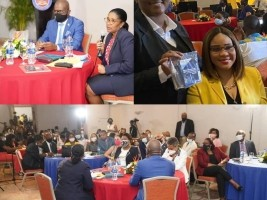 iciHaiti - Congress of the Diaspora : The Minister of Tourism presents the advantages of investing in the country