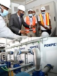 iciHaïti - Social : Moïse inaugure de nouvelles infrastructures de la DINEPA