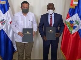 Haïti - Environnement : Signature d'une déclaration commune entre Haïti et la République Dominicaine
