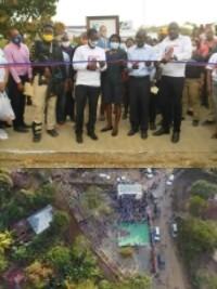 Haïti - Politique : Inauguration de la Place de Sylvestre
