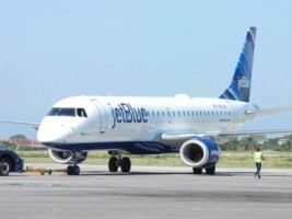 Haïti - FLASH : Atterrissage d'urgence d'un avion de Jet Bleu à Port-au-Prince
