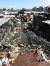iciHaiti - Croix-des-Bouquets : Tons of rubbish and rubbish removed from the Dargout market