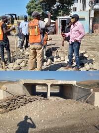 iciHaiti - Politic : Site inspection tour of Minister Nader Joiséus