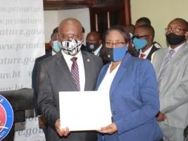 Haïti - Politique : La Ministre des Affaires Sociales révoquée