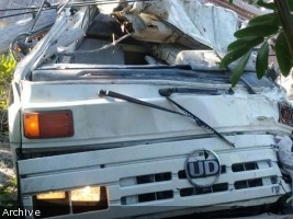 iciHaiti - Weekly road report : 18 accidents at least 49 victims