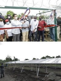 iciHaiti - Limonade : Inauguration of a solar-powered water pumping station