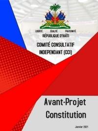 Haïti - FLASH : Avant-projet de Constitution (texte intégral officiel)