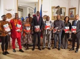 iciHaïti - Constitution : L'Ambassadeur d'Haïti en France reçoit les communautés religieuses