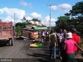 iciHaïti - Bulletin routier : 19 accidents au moins 41 victimes