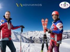 iciHaïti - Mondiaux de ski alpin 2021 : Novaminds, sponsor officiel de l'équipe haïtienne