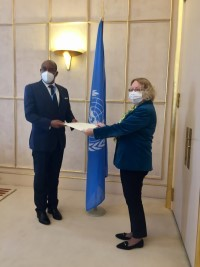 iciHaïti - ONU : Justin Viard Nouveau Représentant permanent d'Haïti à Genève