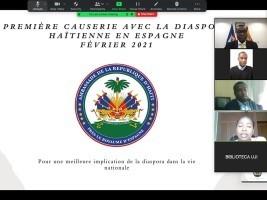 iciHaiti - Spain : Meeting with the Haitian community