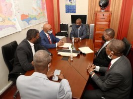 Haiti - Politic : High-level meeting on the production and delivery of the CIN