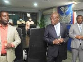 iciHaïti - Politique : Nomination et Installation du Directeur des communications de la Primature