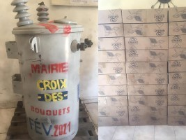 iciHaiti - Croix-des-Bouquets : Purchases of lampposts and transformers to combat insecurity